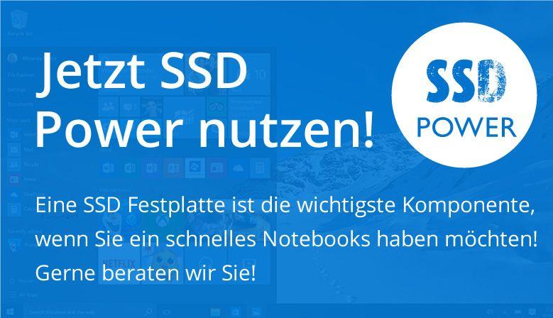 Jetzt SSD Power nutzen
